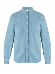 Acne Studios Isherwood Denim Shirt Light Blue