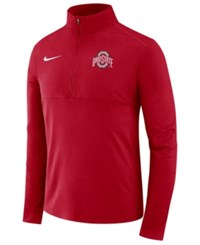 Nike Ohio State Buckeyes Element Quarter Zip Pullover Red