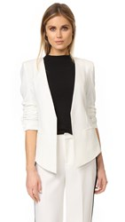 James Jeans Boyfriend Blazer Pearl White