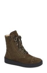 Cycleur De Luxe Anton Bootie Military Green Leather