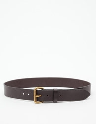 Filson Bridle Leather Belt Brown