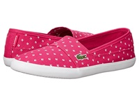Lacoste Marice Piq2 Pink White Women's Flat Shoes