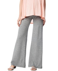 A Pea In The Pod Maternity Wide Leg Lounge Pants Grey