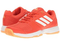Adidas Barricade Court Core Pink Footwear White Haze Coral Women's Tennis Shoes Orange