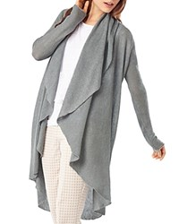 Phase Eight Margherita Linen Open Cardigan Grey