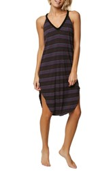 O'neill Lunara Stripe Midi Dress Multi Colored