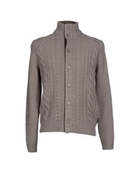 Henry Cotton's Cardigans Dove Grey