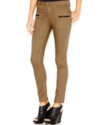Sanctuary Zipper Pocket Skinny Pants