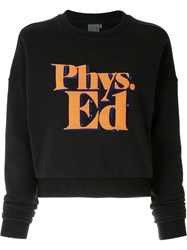 P.E Nation Feature Sweatshirt Black