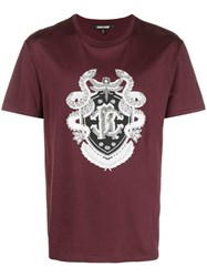 Roberto Cavalli Embroidered Logo T