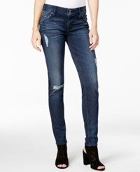Hudson Jeans Collin Ripped Anchor Light Wash Skinny