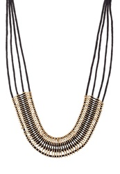 Kiomi Necklace Black Gold