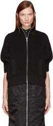 Sacai Black Knit Jacket