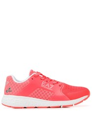 Emporio Armani Ea7 Low Top Sneakers Pink