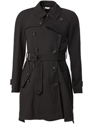Comme Des Garcons Homme Plus Belted Trench Coat Grey