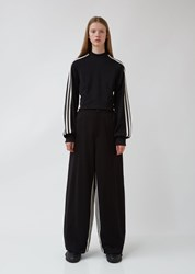 Y 3 W Stp Wide Track Pants Black