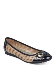 Anne Klein Sport Azip Slip On Flats Natural