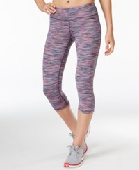 Ideology Spring Space Dyed Cropped Leggings Only At Macy's