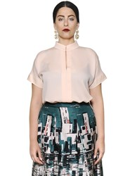 Marina Rinaldi Double Silk Georgette Shirt