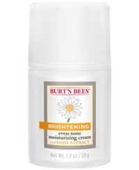 Burt's Bees Brightening Even Tone Moisturizing Cream 1.8 Oz