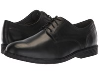Hush Puppies Shepsky Pt Oxford Black Leather Shoes