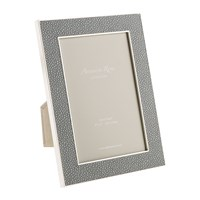 Addison Ross Grey Faux Shagreen Photo Frame 4X6