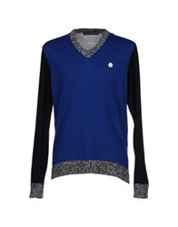 Frankie Morello Sweaters Blue