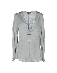 Giorgio Armani Cardigans Light Grey