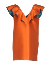Leitmotiv Short Dresses Orange