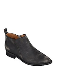 Corso Como Dynamite Leather Ankle Boots Black