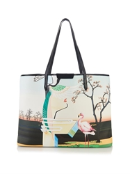 Mary Katrantzou F Melina Coated Canvas Tote