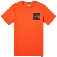 The North Face Fine Tee Red
