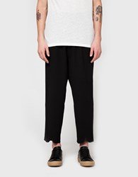 J.W.Anderson Pleat Back Trouser Black