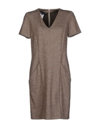 Aquascutum London Aquascutum Short Dresses Dove Grey
