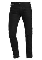 Replay Anbass Coin Zip Slim Fit Jeans Black