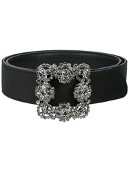 Manolo Blahnik Hangi Belt Black