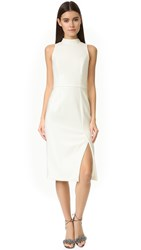 Black Halo Lautner Sheath Dress Porcelain