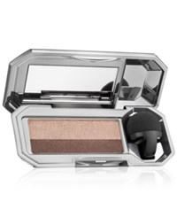 Benefit They're Real Duo Eyeshadow Blender And Shadowblender Applicator Bombshell Brown