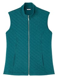 Dash Teal Ribside Gilet Green