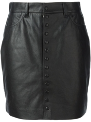 Saint Laurent Fitted Mini Skirt