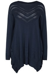 High Suplice Navy Knitted Jumper Blue