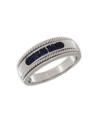 Lord And Taylor Sapphire 14K White Gold Ring