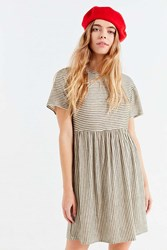 Urban Outfitters Uo Babydoll T Shirt Dress Green Multi