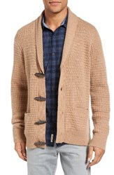 Original Penguin Men's Toggled Shawl Collar Cardigan
