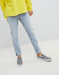 Cheap Monday Tapered Jeans In Blue