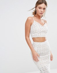 New Look Premium Ladder Insert Bralet White