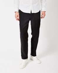 Gant Rugger Wool Trousers Charcoal Grey