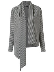 Uma Raquel Davidowicz Striped Cardigan Grey