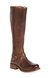 Bed Stu Women's 'Glaye' Tall Boot Teak Rustic Leather