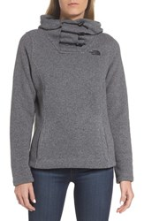 The North Face Women's Crescent Hoodie Tnf Medium Grey Heather